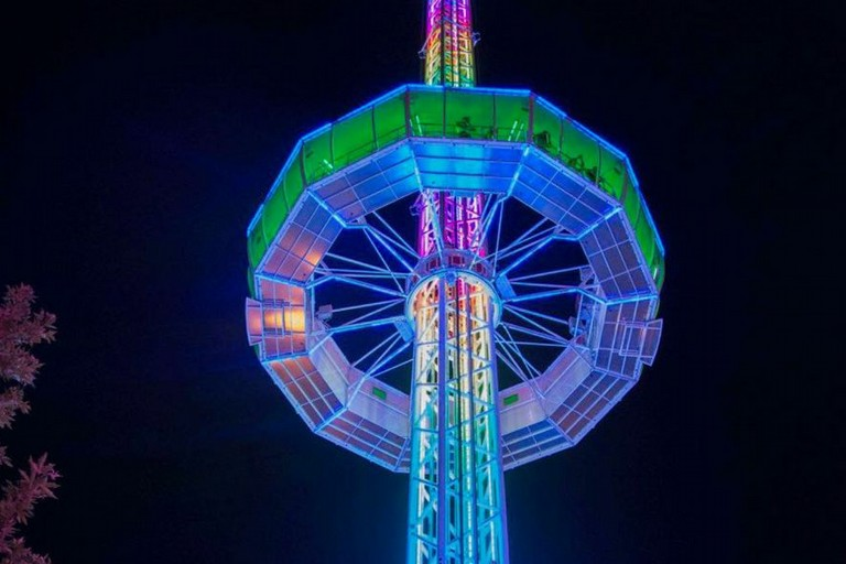torre luminosa luminarie a salerno