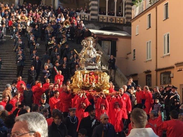 Amalfi festeggia Sant'Andrea
