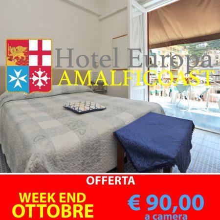 Offerta Week-End Ottobre ad Amalfi
